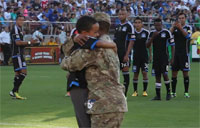 Surprise Reunion at Soccer Game