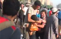 Egyptian Army Fires at Protesters
