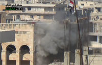 Missile Engages Assad Stronghold