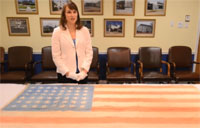Incredible Story of WWII POW Flag