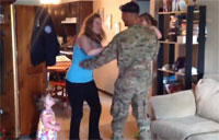 Wife Has Hilarious Reaction to Surprise
