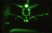 C-17 Night Refueling by KC-135