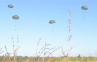 It's Raining Paratroopers!