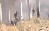 Very Close Range Firefight in Syria