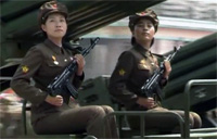 N. Korea's Largest Military Parade