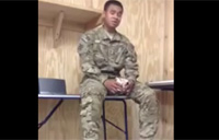 Talented Soldier Sings Rihanna Song