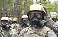 Army Ranger Gas Chamber Training