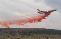 How to Fight Fire with a Jet