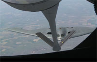 B-2 Bomber Fuels Up from KC-135