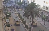Egyptian Army Shoots Protesters