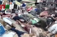 Morsi Supporters Shot by Egyptian Army