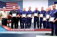 Sheriff Awards CG for Heroic Actions