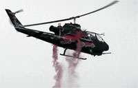 1/4 Scale Bell AH-1 Cobra Helicopter