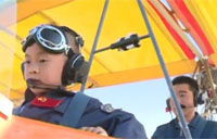 5-Year-Old Completes 1,000 ft. Flight