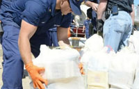 CG Seizes Huge Amount of Cocaine