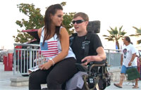 Action Track Chair Helps Wounded