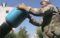 FSA Homemade Missiles with Gas