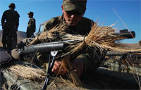 US Army Snipers Train with Japanese