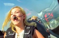 Terrified Reporter Learns to Fly Plane