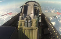 F-16 Flies with an Empty Cockpit