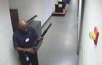 FBI Shows Video of Navy Yard Shooter