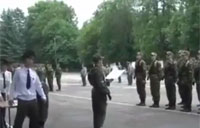 Soldiers Get Big Surprise at Ceremony