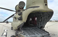 New Chinook On-Off Loading System