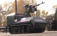 RC Machine Gun Robot Thrills
