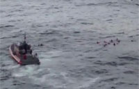 12 People Rescued After Sailboat Sinks