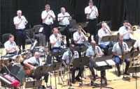 CG Band Performs 'Teddy the Toad'