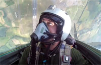 Kissing the Sky in a Mig-29 Jet