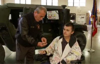 National Guard Grants Teen's Wish