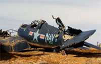 Great Montage of WWII Aircraft Wrecks