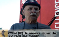 80-yr-old Vet Finishes Army Ten-Miler