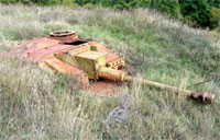 Bulgaria Littered with Panzer Wrecks