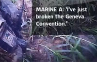 Royal Marines Break Geneva Convention