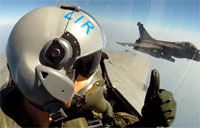 In the Cockpit of a French Mirage