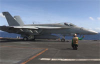 USS George Washington Fly Off