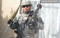 Soldier Fights for Battle Buddy in Iraq