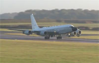 First RC-135W Delivered to the UK