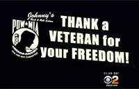 Man Fights for Sign That Thanks Vets