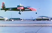 Army Tests VZ-4 VTOL Plane (1960)