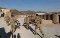 Afghan Base Comes Under Mortar Fire