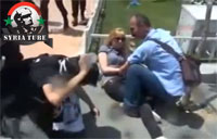 Turkish Protestors Get Gassed