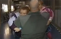 Holiday Surprise for Military Family