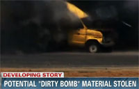 Potential 'Dirty Bomb' Material Stolen
