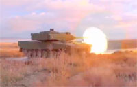 Altay Tank Live Fire & Cold Climate Test