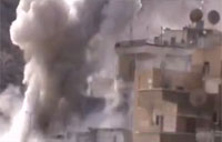 Christian Town in Syria Bombarded