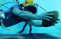 Navy Divers Take Rivalry Underwater
