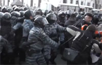 'Berkut' and Ukraine Protesters Clash